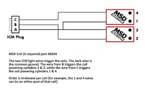 msd coil wiring diagram wiring diagram and hernes msd blaster coil wiring diagram