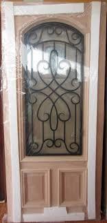 affordable exterior wood doors. #9 2/3 lite iron grill mahogany wood door | robert\u0027s elegant doors front affordable exterior wood doors l
