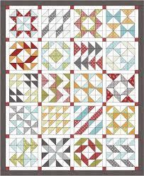 Free Layer Cake Quilt Patterns & Layer Cake Sampler Quilt Tutorial Adamdwight.com