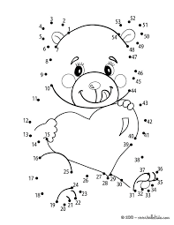 Abc Connect The Dots Printable Beloved Teddy Bear Printable ...