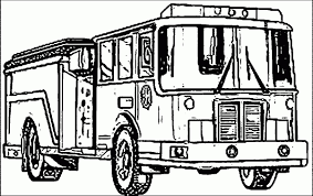 Fire Truck Coloring Pages 7sl6 Free Printable Fire Truck Coloring