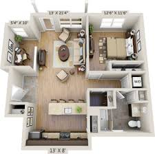 One Bedroom Apartment Layout One Bedrooms 3d Bedroom Apartment Plans Further Small 1 For