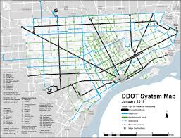Detroit Department Of Transportation City Of Detroit