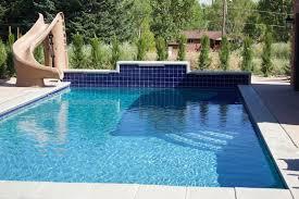 backyard pool with slides. Plain Pool Slide For Backyard Pool In With Slides O