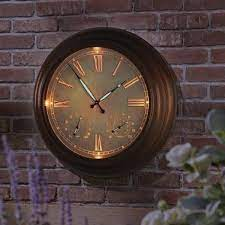 24 outdoor lighted atomic clock