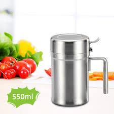 Stainless Steel Dispenser <b>Oil Pot</b> Olive <b>Can</b> Edible Dispensing ...