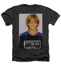 Bill Gates Mug Shot Vertical Color - Heathers T-Shirt – Rubino Creative  Fine Art