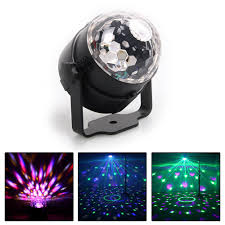 Details About Sound Activated Disco Light With Remote Control Dj Party Bar Led Stage Lamp Ur