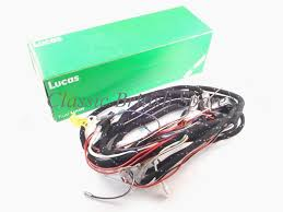 bsa cloth bound lucas wiring harness 54952732 1967 c25 b25