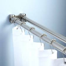 curved tension shower curtain rod curved shower curtain rod installed smart rod double curved tension shower