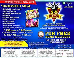 New City Light Surat N Y Pizza Menu Menu For N Y Pizza City Light Surat Zomato