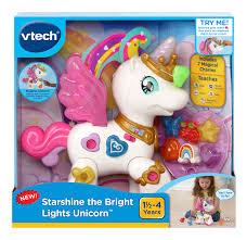 VTech, <b>Starshine</b> the Bright Lights Unicorn, Unicorn Toy, Learning ...
