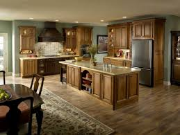 Dark Wood Floors In Kitchen Best Light Hardwood Floors With Dark Cabinets Dark Wood Floors And