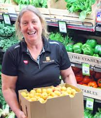 Produce Manager Sue Morton Fresh Produce Manager At The Stables Iga