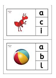 When teaching a child to read it is important to teach both sight words and phonics. 52 Free Beginning Sounds Clip Cards With Images Capital And Small Letter Alphabets Sharing Our Experiences