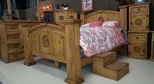 Mansion Bed Set Fleur de Lis or Cross - Furnish It