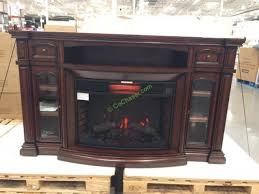70 inch electric fireplace tv stand costco