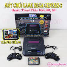 Máy Chơi Game 6 Nút Sega Mega Drive 16Bit Thế Hệ 2 - Tặng Kèm Băng 8 Game