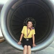 Monarch Airlines Stewardess mulanwallwork