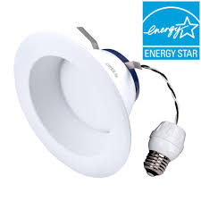 tw series 65w equivalent daylight 5 000k 6 in dimmable led retrofit