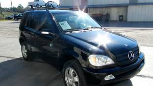 2002 MERCEDES-BENZ ML320 * LEATHER LOADED LOW MILES FOR SALE ...