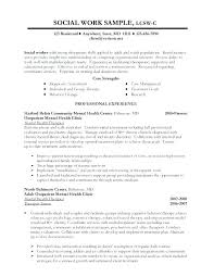 Volunteer Work On Resume Sample Best Of Work Resume Example Sample Social Work Resume Examples Career Social