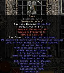 beast runeword items4u eu diablo 2 items shop runewords runewords weapons doom