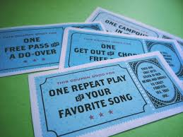 Free Printable Coupons That Make Awesome Family Gifts