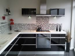 modern kitchen black and white. Modern Black Kitchen Cabinets Enchanting Decoration Outstanding Designs Intended For And White U