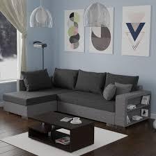 Mirjan24 Ecksofa Clovis Eckcouch Mit Schlaffunktion Und Bettkasten Ottomane Universal Couch L Form Wohnlandschaft Lux 05 Lux 06