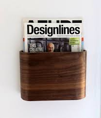 office racks for walls. magazine rack wall hung wooden holder by offcutstudio this would make a really neat gift office racks for walls u