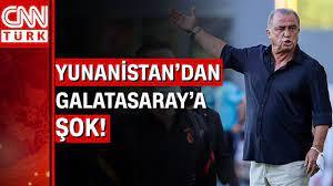 Olympiakos ile hazırlık maçı oynamak için Yunanistan'a giden Galatasaray'a  şok tavır! - YouTube