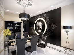 Apartment:Futuristic Marilyn Monroe Vintage Apartment Dining Room  WithBeauty Chandelier Idea Futuristic Apartment Dining Room