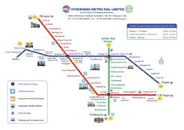 Hyderabad Metro Train Timings Metro Fare Metro Route Map