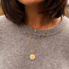 the best timeless gold coin necklaces