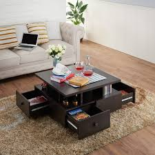 block coffee table with storage