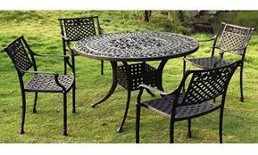 Modern Furniture  Modern Metal Outdoor Furniture Large Limestone Metal Outdoor Patio Furniture Sets