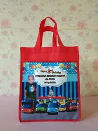 del produk tas ulang tahun tayo little bus