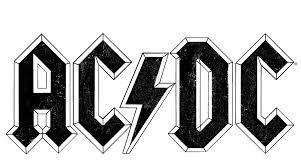 AC/DC Worn Logo Men's Regular Fit T-Shirt - Sons of Gotham