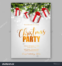 Template For Christmas Party Invitation Christmas Party Invitation Cards Design Fun For Christmas Halloween