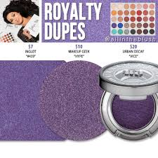 morphe x jaclyn hill royalty eyeshadow dupes the jaclyn hill palette