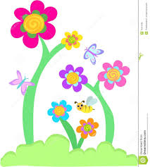 erfly and flower clip art