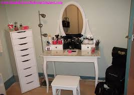 Makeup Table Best Makeup Vanity Tables Furniture Black Makeup Table With