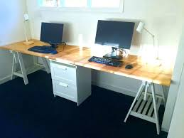 desk for 2 people computer large size of two person office love this idea ikea uk