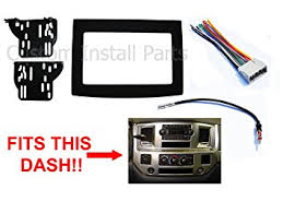 double din wiring harness double image wiring diagram amazon com black dodge ram radio stereo double din dash install on double din wiring harness