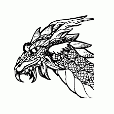 Kleurplaten Draken