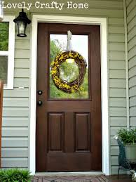 How To how to refinish front door images : Gel Stain Fiberglass Door @Michelle Flynn Landry. General Finishes ...