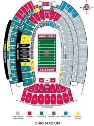 Titans Stadium Seating Chart Ohio State Stadium Seating Chart Alonlaw Co