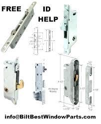 sliding glass door lock repair repair patio door locks innovative patio door lock repair replacement mortise