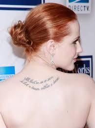 Englische Lebensweisheiten Tattoos